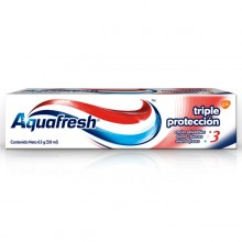 AQUAFRESH CR X63 TRIPLE PROTECCION