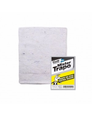 MR TRAPO BLANCO 62X48