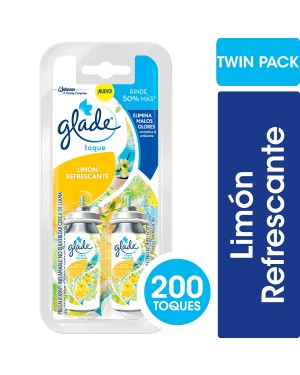 GLADE TOQUE REP 2X9g CITRICA