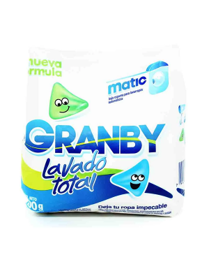 GRANBY MATIC X400 LAVADO TOTAL