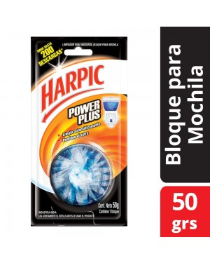 HARPIC BLOQUE PLUS 1X50g AZUL