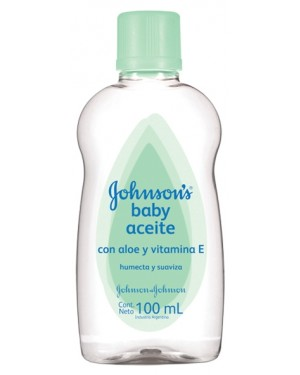 JOHNSON ACEITE X100 ALOE
