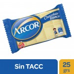 ARCOR CHOC x25g BLANCO    6074