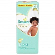 PAMPERS P-CARE XXG 60    4417