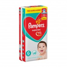 PAMPERS ROJO SUPERSEC G 68