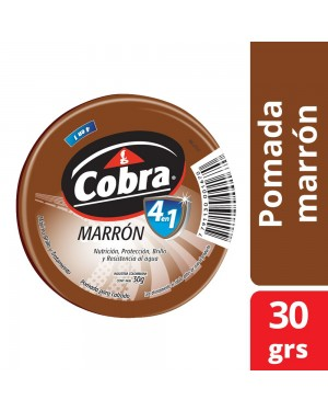 COBRA POMADA X30 4EN1 MARRON
