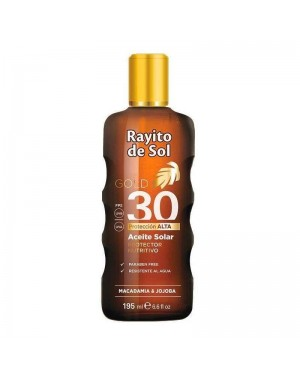 RAYITO ACEITE X195 FPS30 GOLD