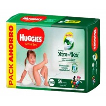 HUGGIES AS XTRA-FLEX PROMO PACK XXG56