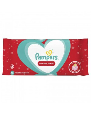 PAMPERS TH  X48 SIEMPRE LIMPIO