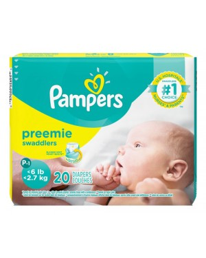 PAMPERS PREMATURO P 20