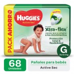 HUGGIES AS XTRA-FLEX PROMO PACK G68