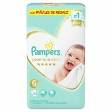 PAMPERS P-CARE GDE 72    7464