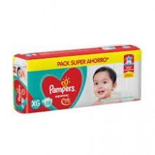 PAMPERS ROJO SUPERSEC XG 58