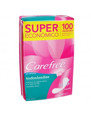 CAREFREE PROT X100  TLD S/P